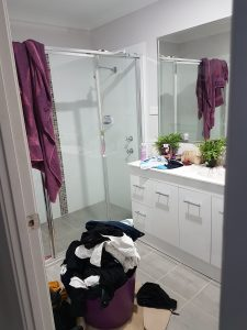 From Chaos to Pristine - A Bathroom Make-Over 2