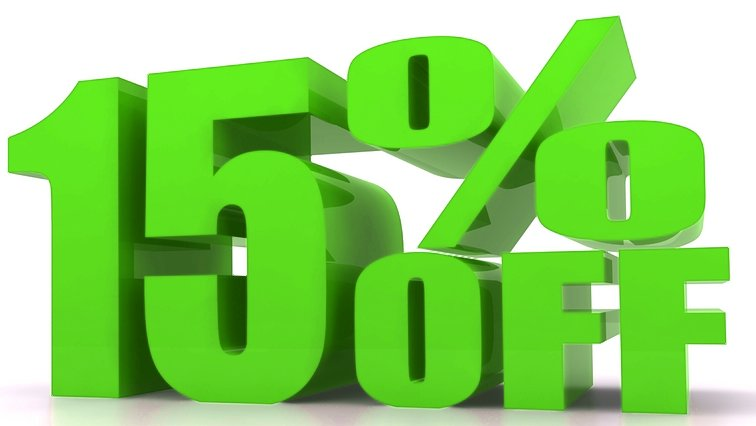 End of Lease November Special - Get 15% OFF! 1